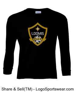 Youth 100% Heavyweight Ultra Cotton Long Sleeve Youth Tshirt Design Zoom