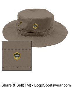 Safari Hat Design Zoom